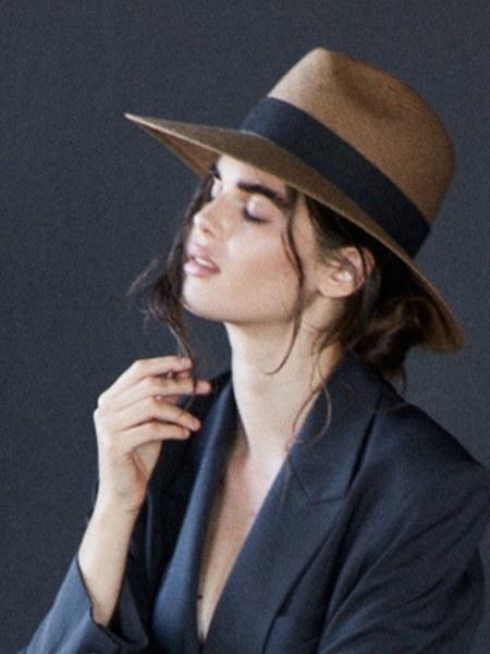 Janessa Leone Corbin Hat - Tan