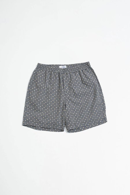 Libertine Libertine Front shorts - navy tiles