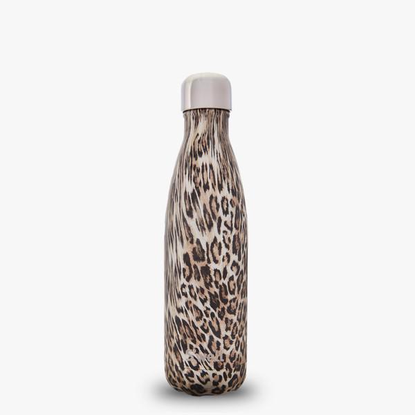 S'well Large Water Bottle - Khaki Cheetah