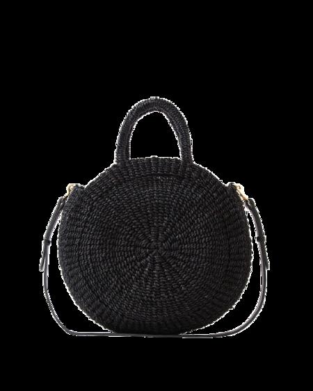 Clare V. Alice Woven Bag - Black
