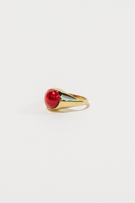 Luiny Primary Ring - Red Obsidian