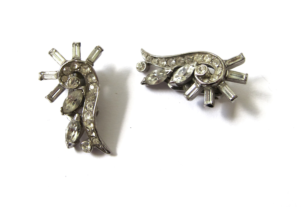 rhinestone ear cuffs