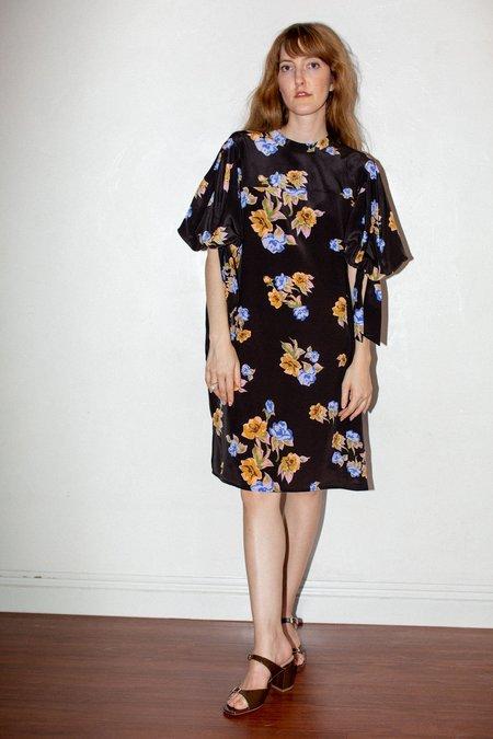 No.6 Adelaide Dress - Espresso Painted Bouquet