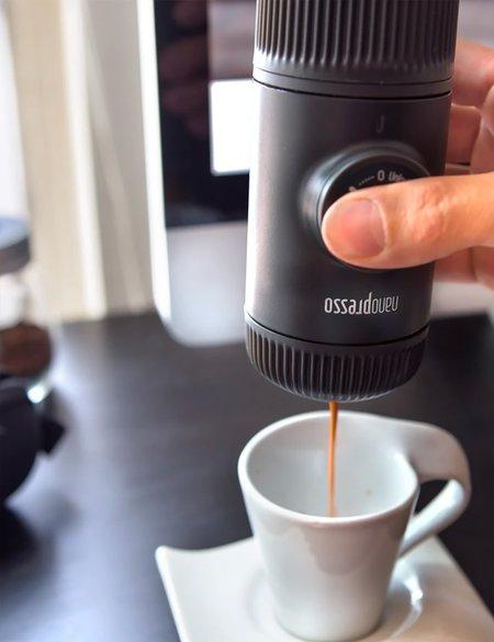 Barista & Co Wacaco Nanopresso Espresso Machine & NS Adapter - Grey