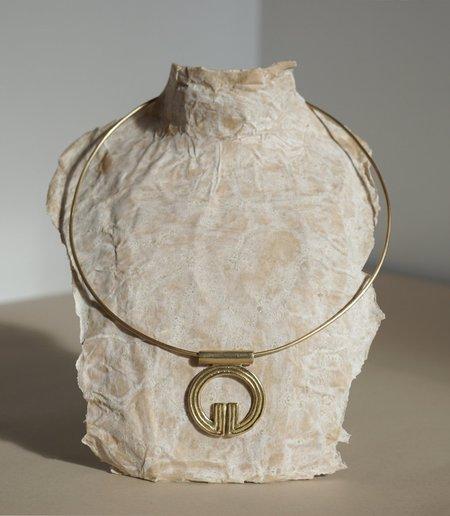 MAAARI LINGLINGO COLLAR - Brass