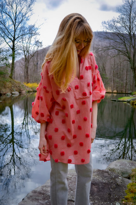 House Dress Rugelach Tunic - Rhubarb