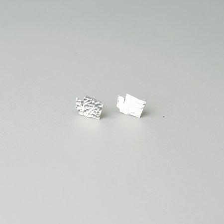 Oh So Antsy State Earrings - Sterling Silver