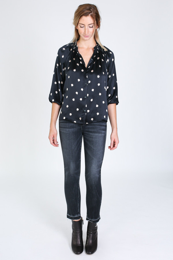 Tracy Reese Classic Blouse in belle de jour