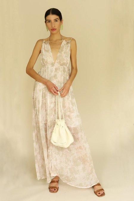 ASTR The Label Amalfi Dress - Mauve Tie Dye
