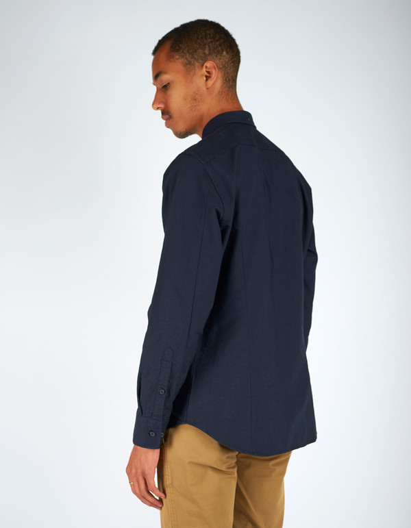 Men's Filippa K Paul Oxford Shirt Navy Night Blue