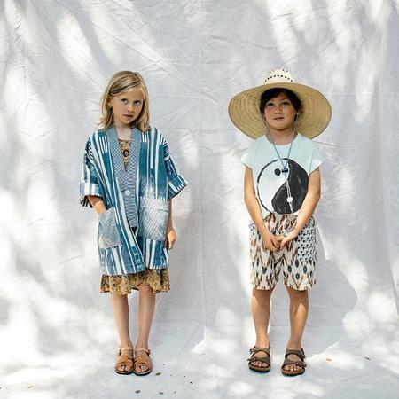 kids Nico Nico Child Andy Patchwork Shorts