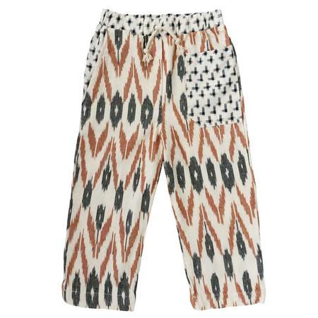 nico nico Child Burton Patchwork Pants - Cream