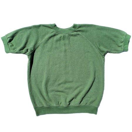 Jungmaven Short Sleeve Fleece Raglan Sweatshirt - Spruce Green