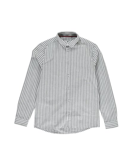 RVLT Camisa Stripe 3758 - Grey