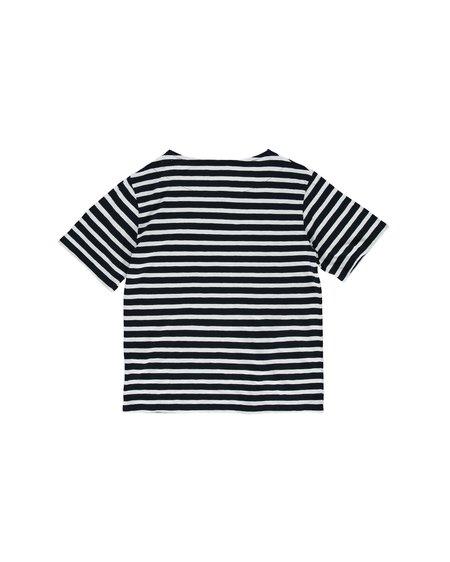 Loreak W Camiseta W Boatneck Dot - Navy/White