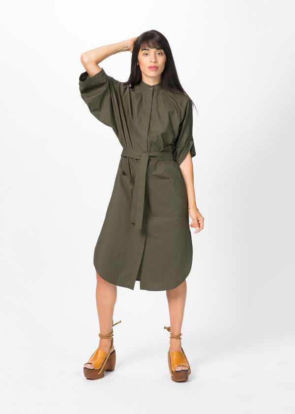Schai Eclipse Artisan Shirt Dress