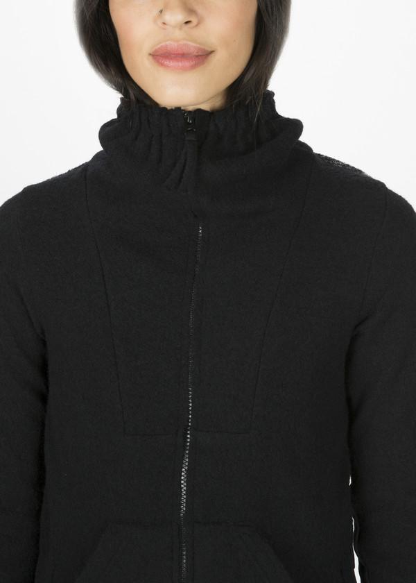 Rundholz BL Funnel Neck Zipper Jacket