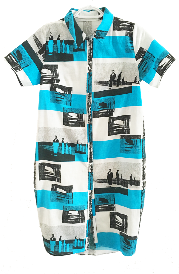 """One Imaginary Girl """"Pascal"""" Cocoon Shirt Dress"""