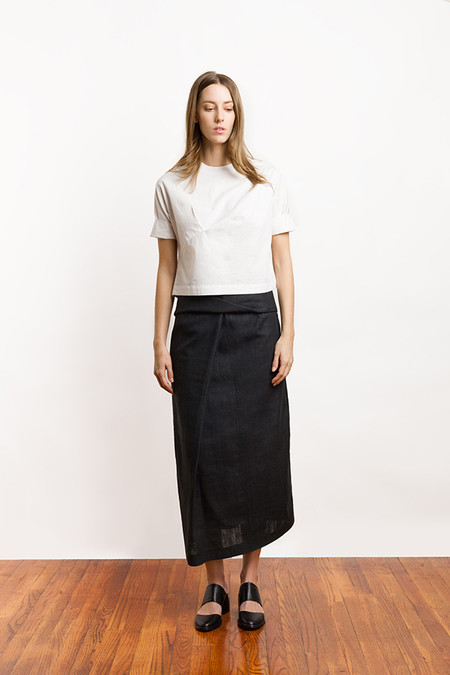 Ajaie Alaie Braid Me Skirt | Carbon