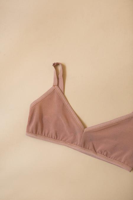 Land Of Women Mesh Classic Bra / Nude