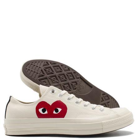 Converse x COMME des GARÇONS PLAY Chuck Taylor Ox sneakers - white