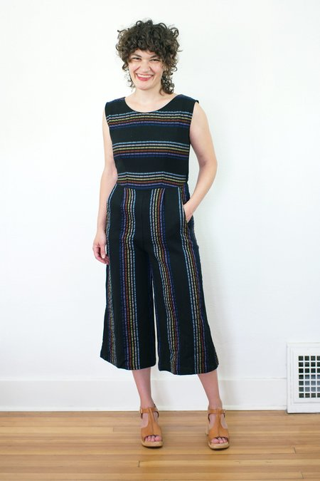 Corey Lynn Calter Crystal Jumpsuit - Stripes