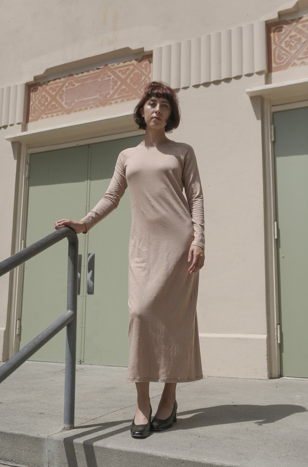 ARE Studio Tunnel Dress in Blush