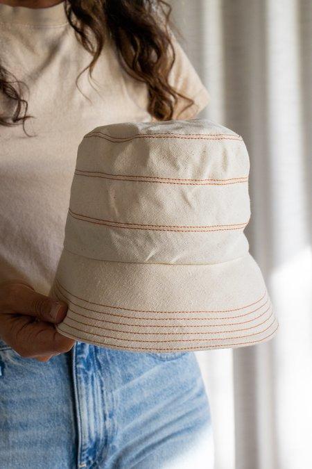 Lola Ester Hat - Natural/Rust
