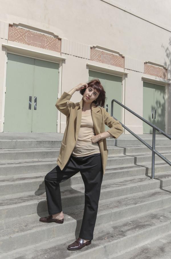 LIKE Carly Blazer in Camel