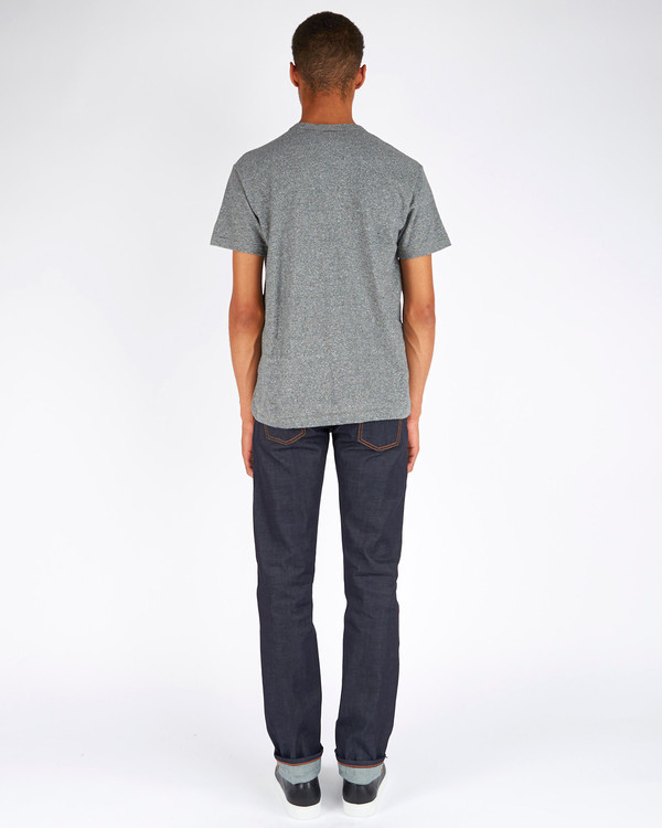 Men's Todd Snyder x Champion Basic Tee Salt and Pepper