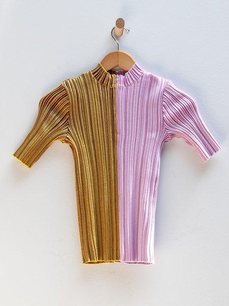 Julia Heuer Ginger Top - Bronze/Pink
