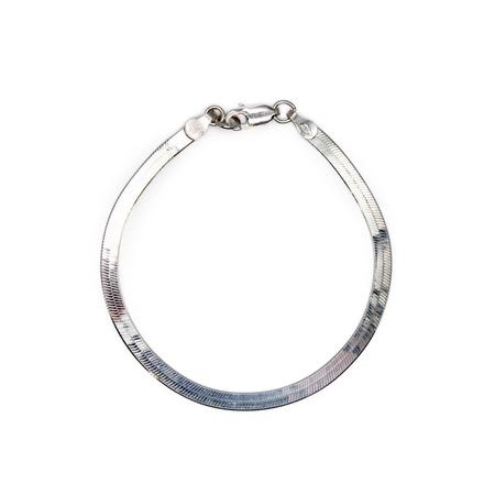 Amanda Hunt Liquid Chain Bracelet - Silver
