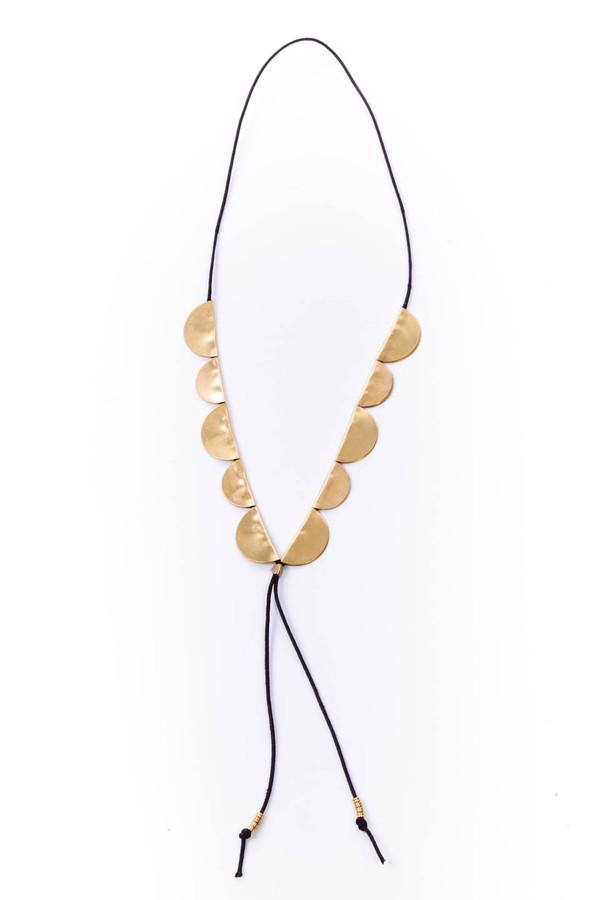 SAINT CLAIR Scout Necklace (Black)