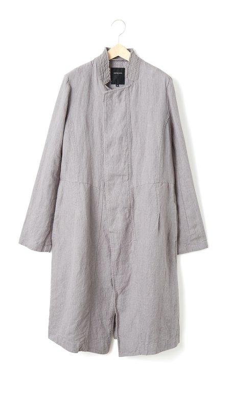 Pas de Calais Long Linen Coat - Grey