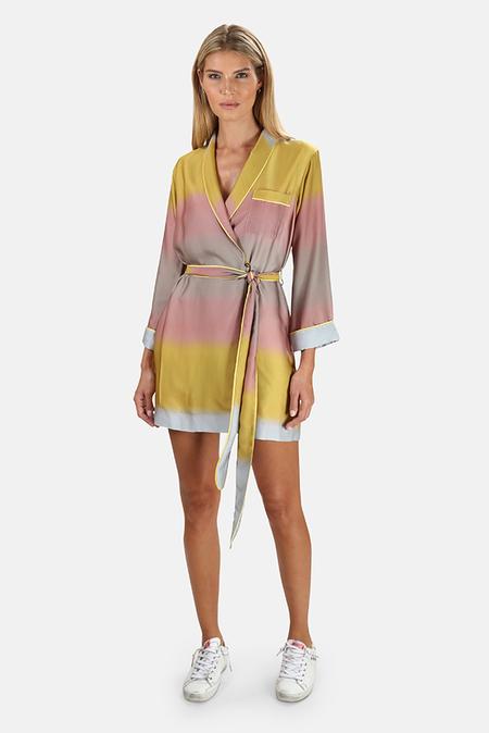 Le Superbe Robe Dress - Ombre Horizon West