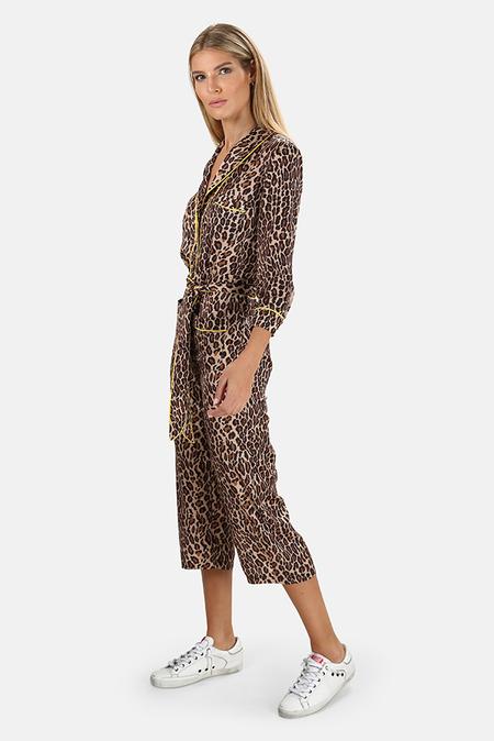 Le Superbe Beatnik Jumpsuit - Leopard