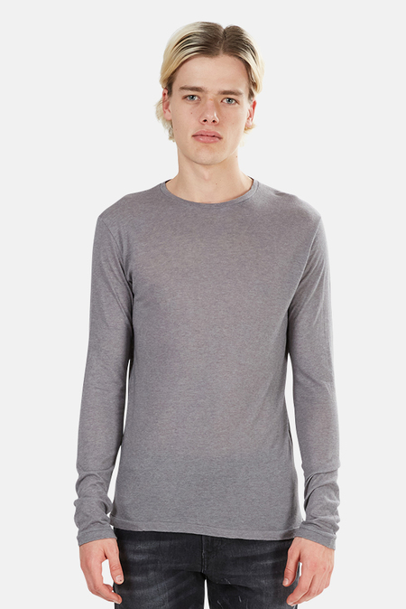 Crossley Rast Cashmere Crewneck Long Sleeve Sweater - Grey