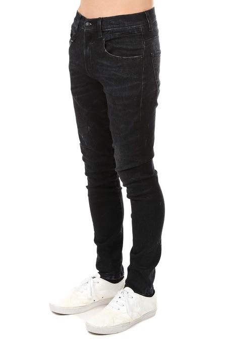 R13 Boy Jeans - Black Marble