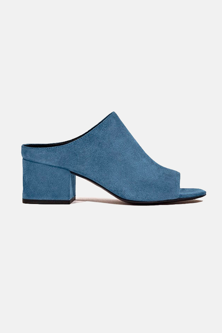 3.1 Phillip Lim Cube Open Toe Slip On Shoes - French Blue