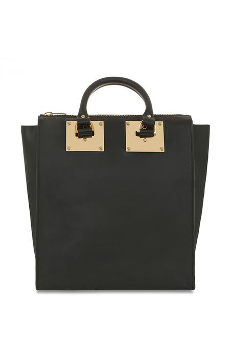 Sophie Hulme NS Holmes Zip Tote Bag - Black