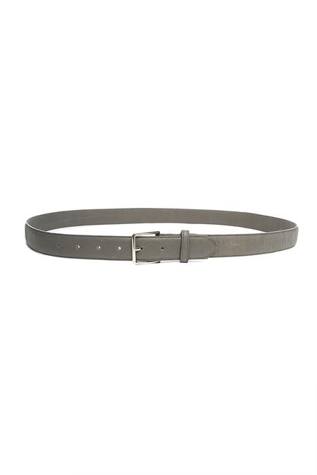 Shipley & Halmos Oak Belt - Dark Grey