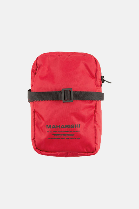 Maharishi MA Side Bag - Red