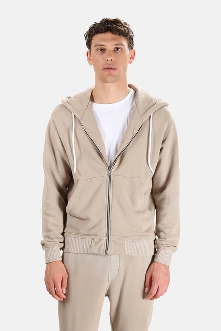 Cotton Citizen Bronx Zip Hoodie Sweater - Sand Dollar