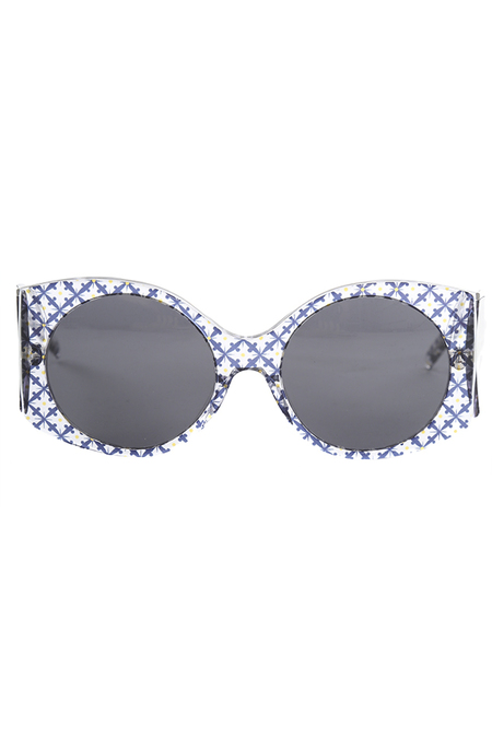 Stella McCartney Rectangle Trans Orcirbl 2050/87 Sunglasses - Transparent/Pattern