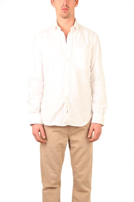 Blue&Cream Oxford Shirt - White