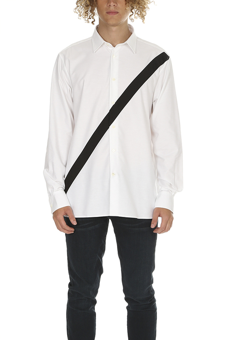Public School Neruda Button Up Shirt - White