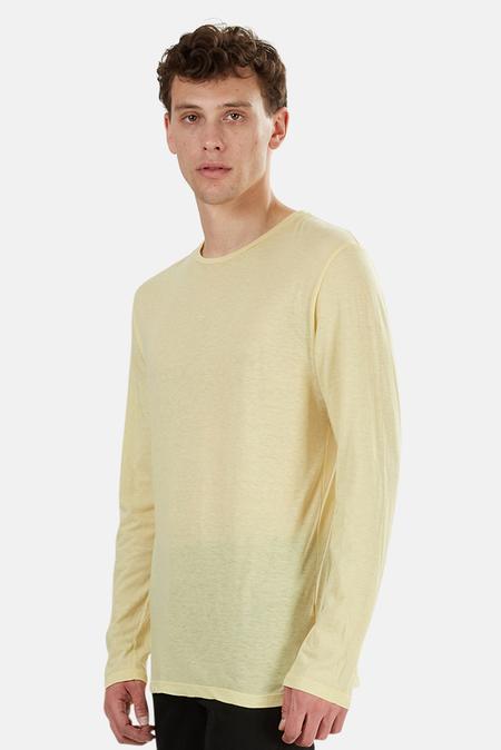 Blue&Cream 66 LS T-Shirt - Yellow