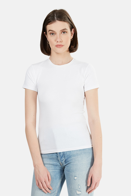 ATM Jersey Baby Tee Shirt - White