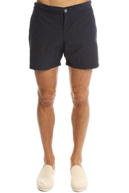 Officine Generale Roman Swim Short Swimwear - Navy