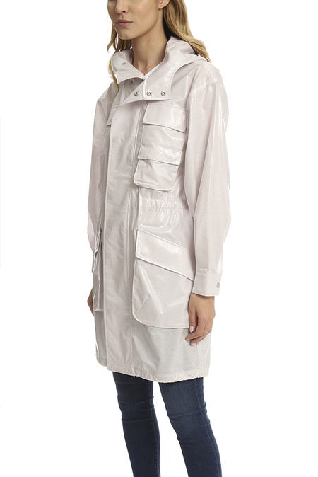 ATM Coated Parka - Pearl